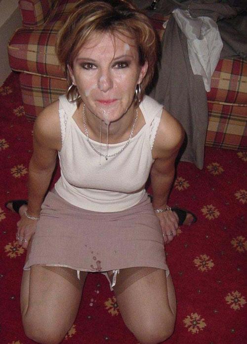 femme eurasienne sperme mature